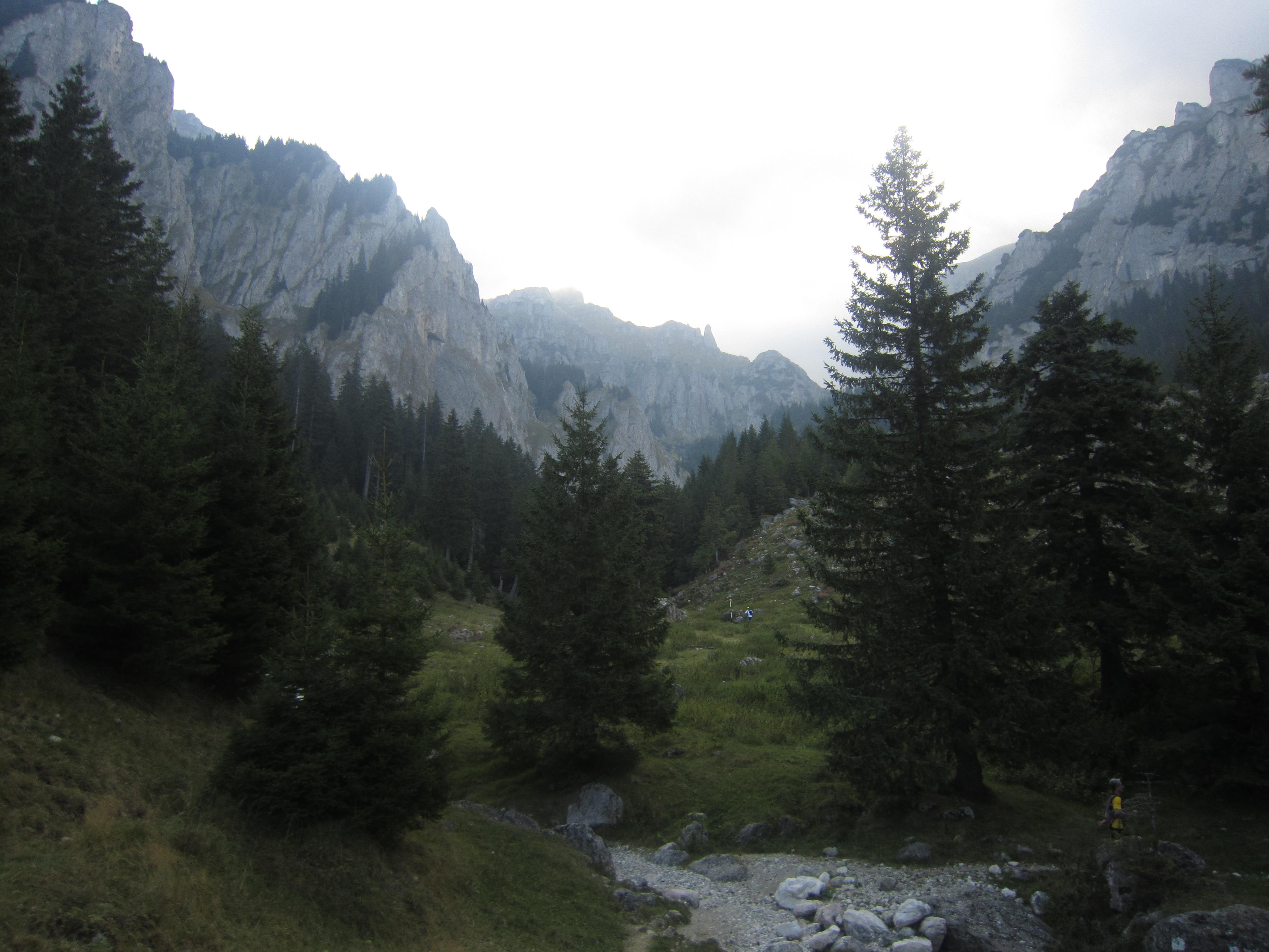 Första närkontakten med bergen