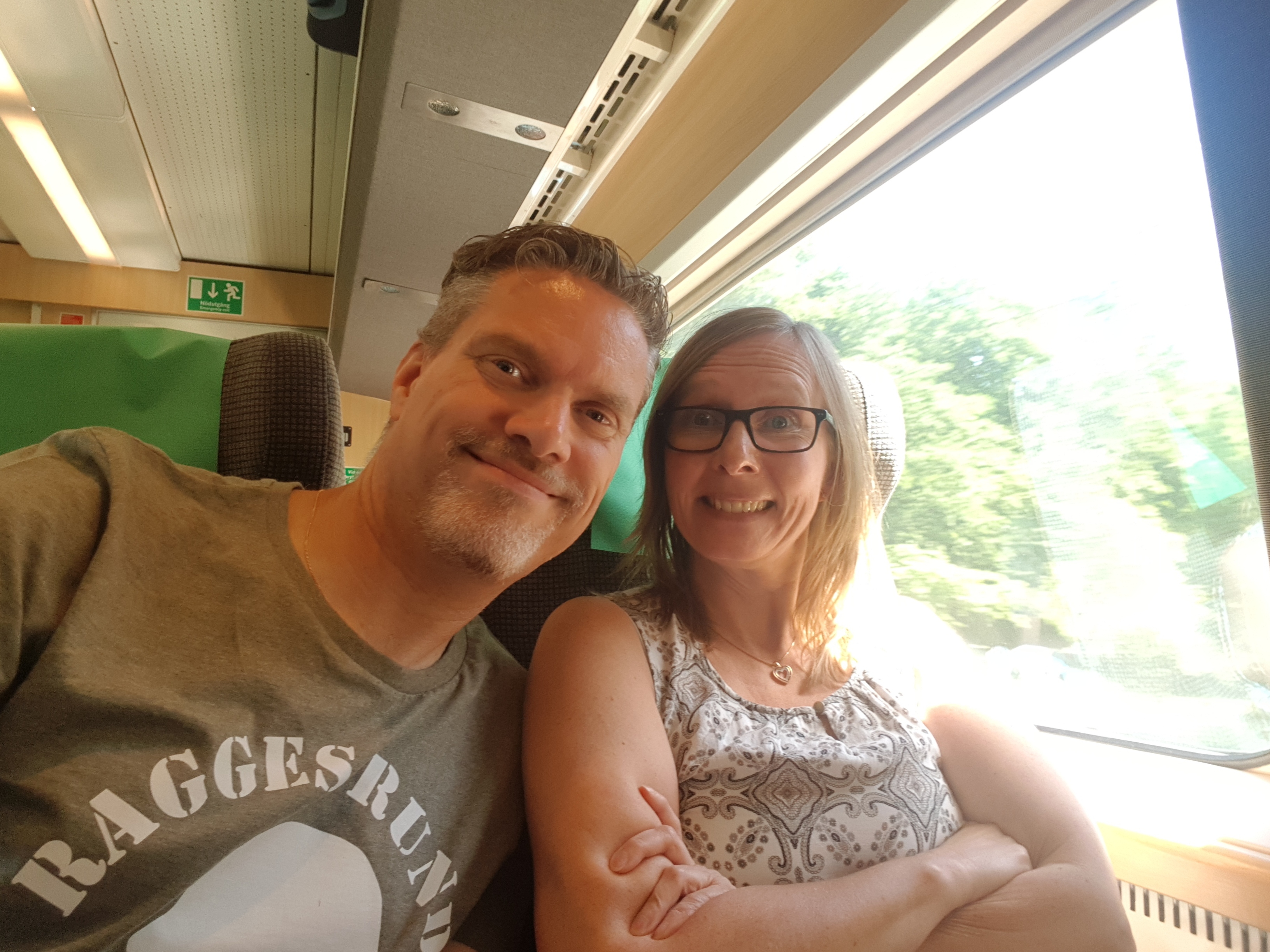 På väg till Stockholm