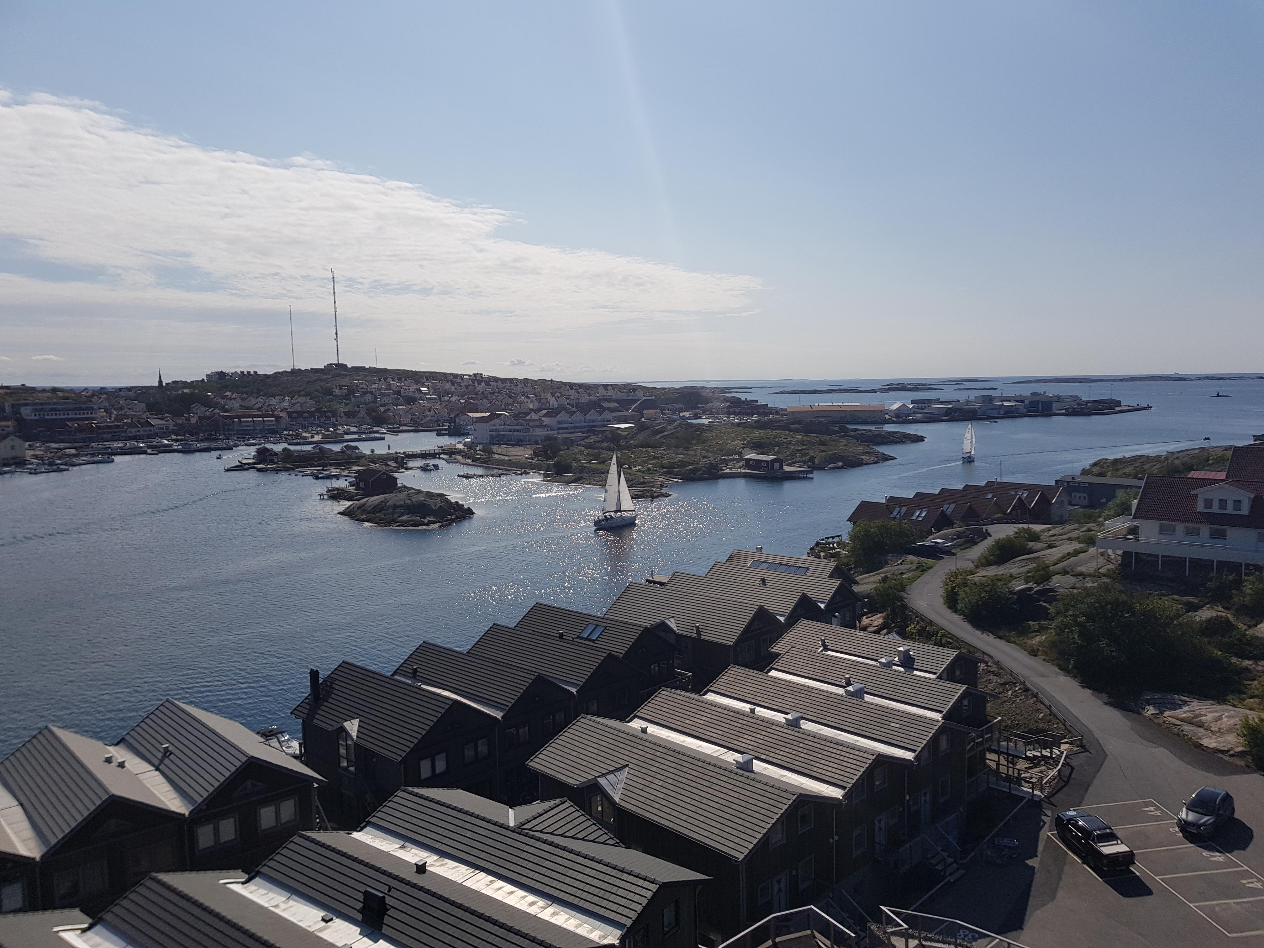 Utsikt från Smögenbron