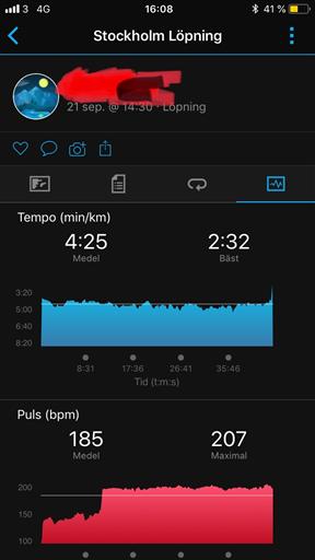 hög puls vid löpning